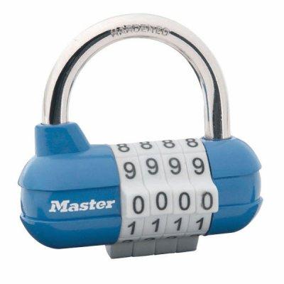 Master Lock 1523EURD kombinační visací zámek horizontální - modrý