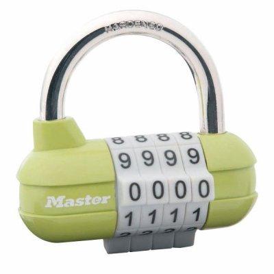 Master Lock 1523EURD kombinační visací zámek horizontální - zelený