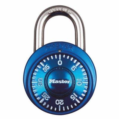 Master Lock 1533EURD kombinačný visiaci zámok 38 mm - modrý