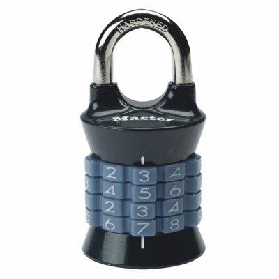 Master Lock 1535EURDCOL kombinační visací zámek vertikální - šedý