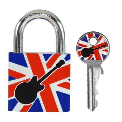 Master Lock 3430EURDGUITAR visací zámek z pevného hliníku 30 mm