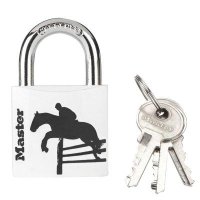 Master Lock 3430EURDSPO_horse visací zámek z pevného hliníku 30 mm