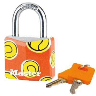 Master Lock 9130EURDPSP_tennis visací zámek z pevného hliníku 30 mm