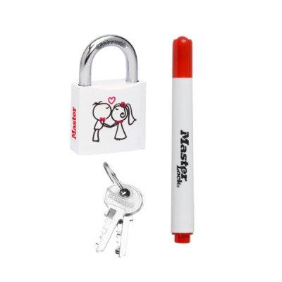 Master Lock 3430EURDLOV_partners visací zámek z pevného hliníku 30 mm