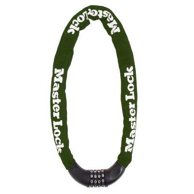 Master Lock 8027EURD reťaz so zámkom na kód priemer 8 mm (1,0 m)
