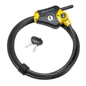 Master Lock Python 8420EURD lanový zámek 10 mm - zkracovací