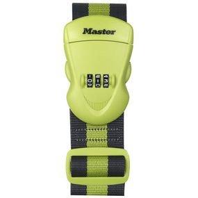Master Lock 4701EURDGRN popruh na zavazadlo kombinační