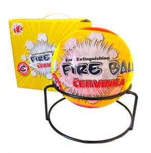 ČERVINKA FIRE BALL automatické hasiace zariadenie - protipožiarna guľa