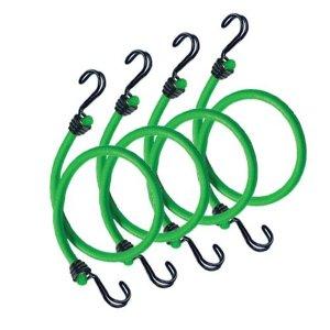Master Lock 3106EURDAT upínacie gumy s háčikmi (1 balenie / 4 ks)