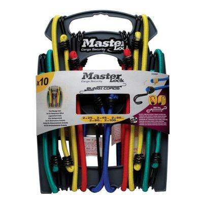 Master Lock 3043EURDAT upínací gumy s háčky (1 balení / 10 ks)