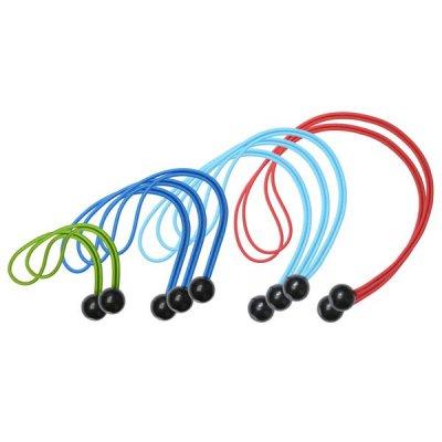 Master Lock 3258EURDAT upínacie gumy s guľôčkou (1 balenie / 10 ks)