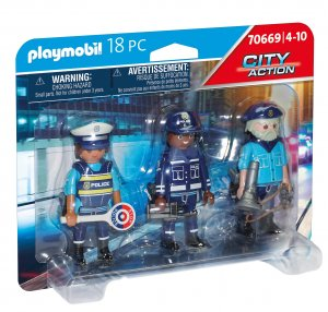 PLAYMOBIL® Figurenset Polizei