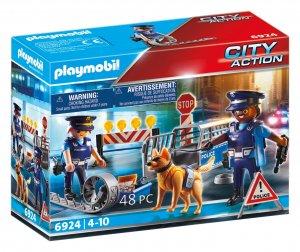 PLAYMOBIL® 6924 Policajná zátarasa
