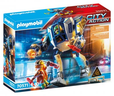 PLAYMOBIL® 70571 Policajný robot: Zvláštne nasadenie