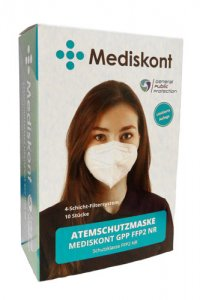 Mediskont General Public Protection respirátor FFP2