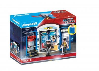 """PLAYMOBIL® Spielbox """"In der Polizeistation"""""""
