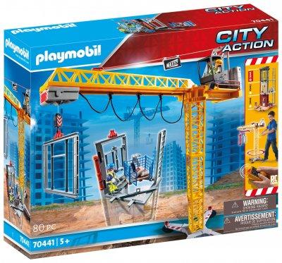 PLAYMOBIL® Stavební jeřáb na dálkové ovládání