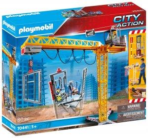 PLAYMOBIL® 70441 Stavební jeřáb na dálkové ovládání