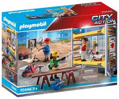 PLAYMOBIL® 70446 Lešení s řemeslníky