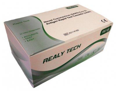 RealyTech Novel Coronavirus (SARS-ČOV-2) rýchly antigénový test (výter)