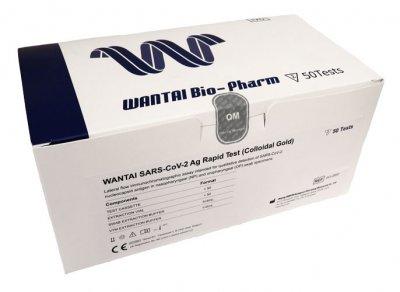 Wantai Bio-Pharm SARS-Cov-2 Ag rychlý antigenní test (koloidní zlato)