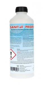 Sanit ALL - PROFI dezinfekce povrchů