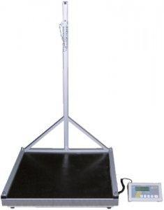 FRITZ EMDE BW150 20 XL Digitální podlahová váha s držákem lahví