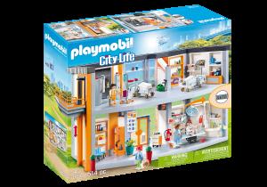 PLAYMOBIL® 70190 Veľká nemocnica s vybavením