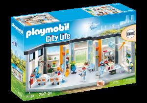 PLAYMOBIL® 70191 Nemocnica s vybavením