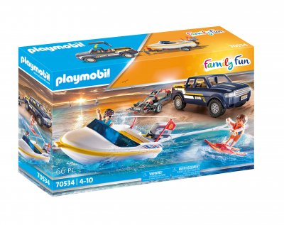 PLAYMOBIL® 70534 Pick-up mit Motorboot