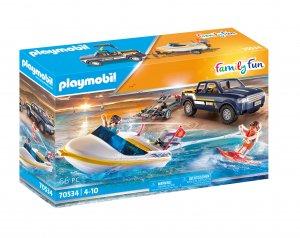 PLAYMOBIL® 70534 Pick-up s motorovým člunem