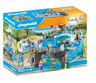 PLAYMOBIL® 70537 Set Aquarium mit Pool für Pinguine