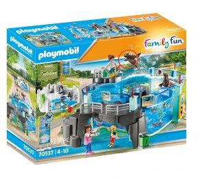 PLAYMOBIL® 70537 Set Akvárium s bazénem pro tučňáky