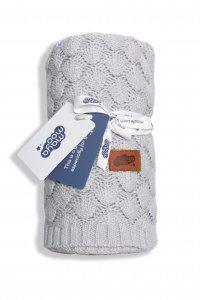 Bavlněná deka - šedá