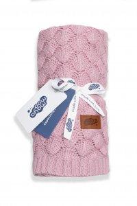 Bavlněná deka - růžová