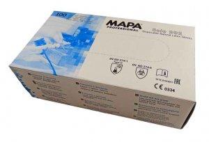 MAPA Professional jednorázové latexové rukavice 100 ks