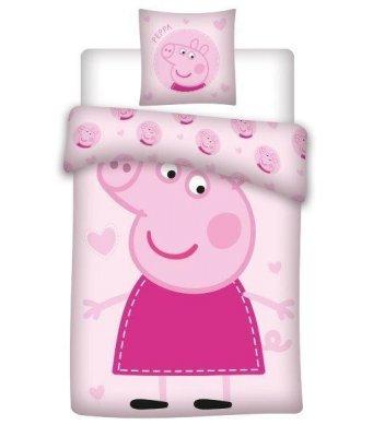 PEPPA Baumwollbettwäsche - rosa