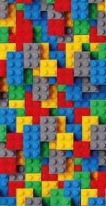 Bavlněná osuška LEGO - barevná