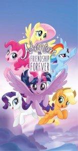 Bavlněná osuška My Little Pony - modrá