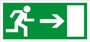 Rettungsweg rechts