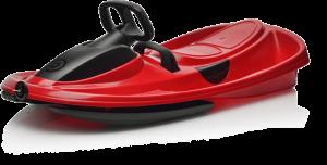 Plastkon STRATOS řiditelné boby Racing Red (červená + černá)