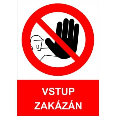 Vstup zakázán