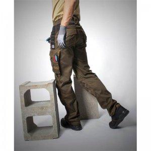 Kalhoty do pasu VISION  tarmac, zkrácené