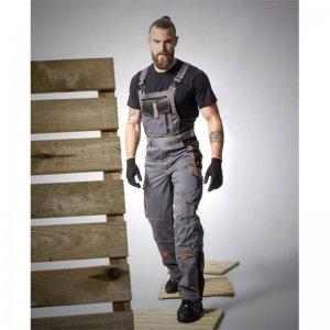 Kalhoty lacl VISION šedé, prodloužené