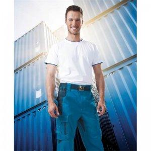 Kalhoty do pasu VISION modré, zkrácené