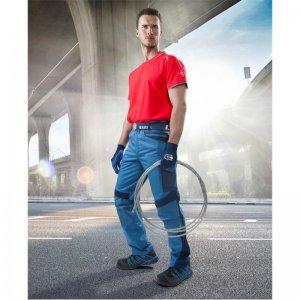 Kalhoty do pasu R8ED+ modré, prodloužené