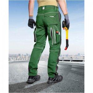 Nohavice do pása ARDON®URBAN+ zelené skrátené