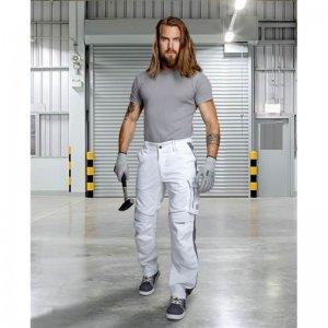 Nohavice do pása ARDON®URBAN+ bielo-sivé skrátené