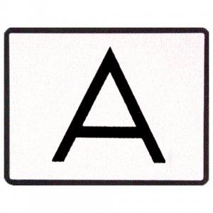 Reflexná tabuľa A