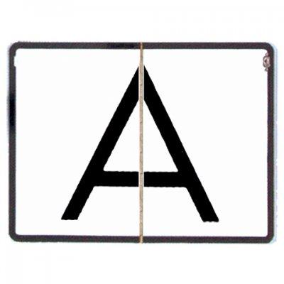 Reflexná sklopná tabuľa A